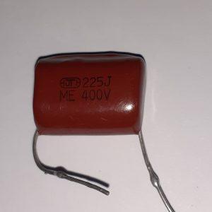 خازن پلیستر ۴۰۰ ولت ۲۲۵