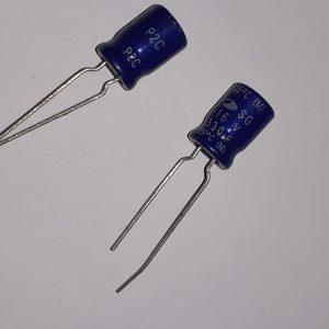 خازن ۱۶ ولت ۳۳۰ میکروفاراد الکترولیتی